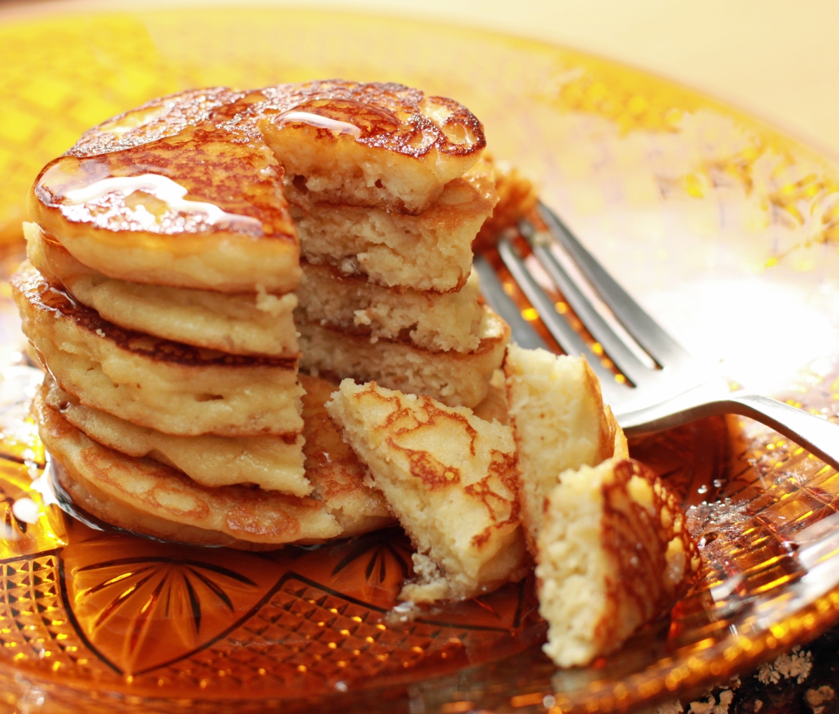 Fluffy Almond Pancakes Mad Ketocook