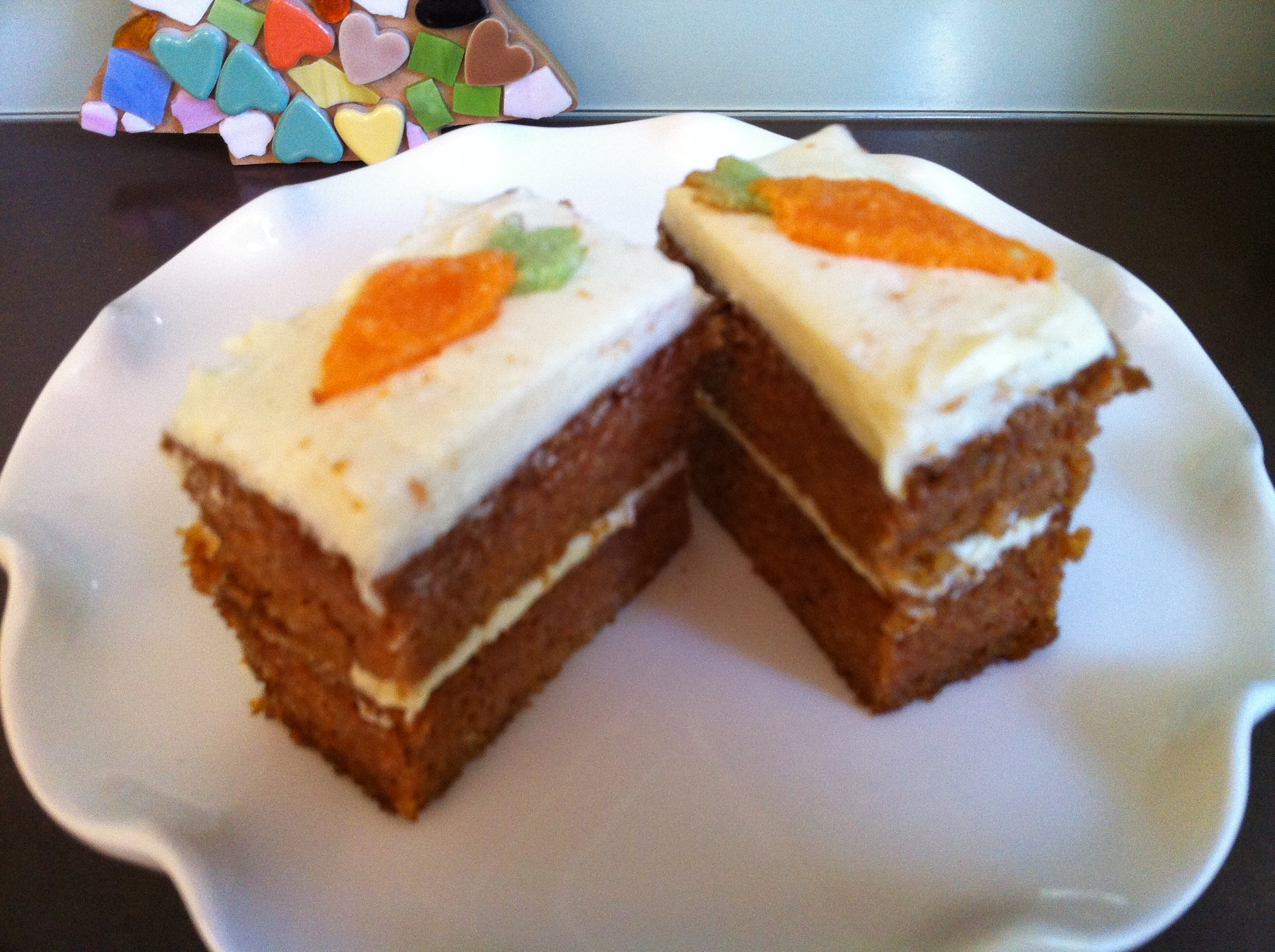Mini Carrot Cake For Two