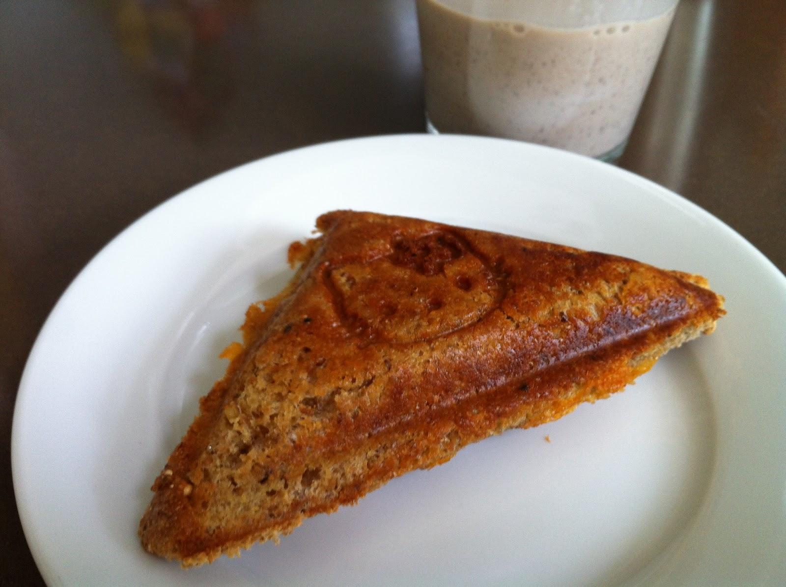 grilled cheese sandwich & chocolate milk | KetoCook
