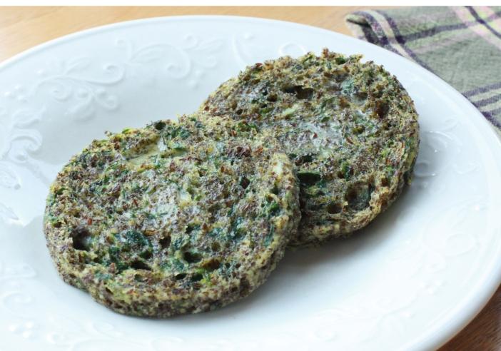 Spinach & Flax Micro Muffin